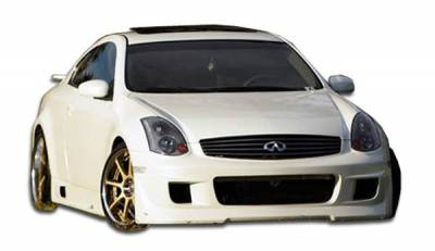 Extreme Dimensions 16 - Infiniti G35 2DR Duraflex Type G Front Bumper Cover - 1 Piece - 100460