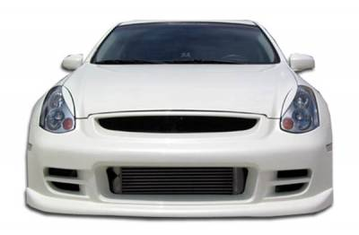 Extreme Dimensions 16 - Infiniti G35 2DR Duraflex TS-1 Front Bumper Cover - 1 Piece - 100469
