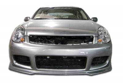 Extreme Dimensions 16 - Infiniti G35 4DR Duraflex GT Competition Front Bumper Cover - 1 Piece - 100470