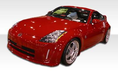 Extreme Dimensions 16 - Nissan 350Z Duraflex N-1 Front Bumper Cover - 1 Piece - 100495