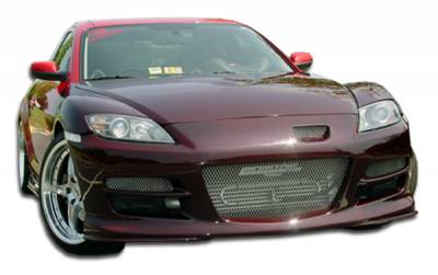 Extreme Dimensions 16 - Mazda RX-8 Duraflex GT Competition Front Bumper Cover - 1 Piece - 100579