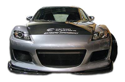 Extreme Dimensions 16 - Mazda RX-8 Duraflex M-1 Speed Front Bumper Cover - 1 Piece - 100582
