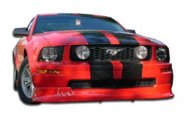 Extreme Dimensions 16 - Ford Mustang Duraflex Racer Front Lip Under Spoiler Air Dam - 1 Piece - 100660