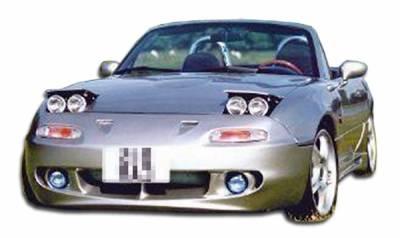 mazda miata vis racing re rear bumper 90mzmx52dre 002. Black Bedroom Furniture Sets. Home Design Ideas