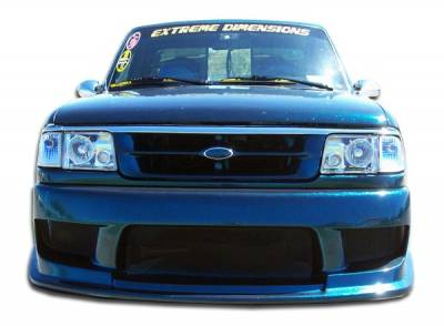 Extreme Dimensions 16 - Ford Ranger Duraflex Drifter Front Bumper Cover - 1 Piece - 101239