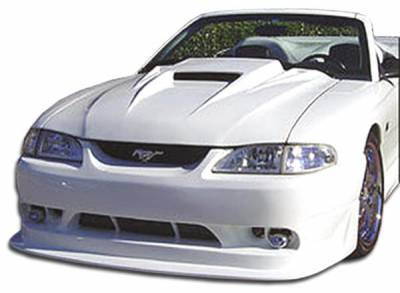 Extreme Dimensions 16 - Ford Mustang Duraflex Cobra R Front Bumper Cover - 1 Piece - 101424