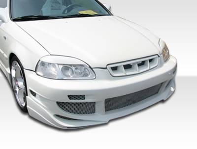 Extreme Dimensions 16 - Honda Civic Duraflex AVG Front Bumper Cover - 1 Piece - 101732
