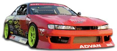 Extreme Dimensions - Nissan 240SX Duraflex V-Speed Front Bumper Cover - 1 Piece - 101901
