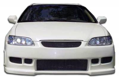 Extreme Dimensions 16 - Honda Accord 4DR Duraflex Spyder Front Bumper Cover - 1 Piece - 101984