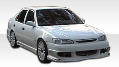 Extreme Dimensions 16 - Toyota Corolla Duraflex Bomber Front Bumper Cover - 1 Piece - 102031