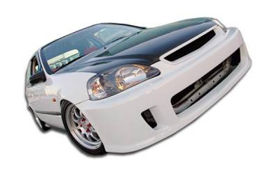 Couture - Honda Civic Duraflex Winner Front Bumper Cover - 1 Piece - 102109