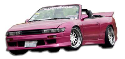 Extreme Dimensions 16 - Nissan S13 Duraflex V-Speed Front Bumper Cover - 1 Piece - 102204