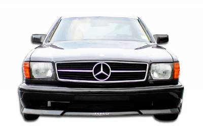 Mercedes-Benz S Class Duraflex AMG Look Front Bumper Cover - 1 Piece - 102237