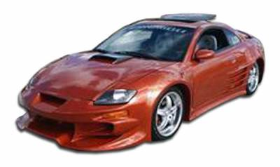 Extreme Dimensions 16 - Mitsubishi Eclipse Duraflex Vader Front Bumper Cover - 1 Piece - 102328