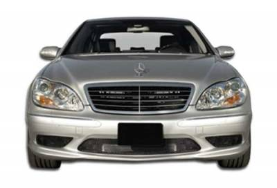 Extreme Dimensions 16 - Mercedes-Benz S Class Duraflex AMG Look Front Bumper Cover - 1 Piece - 102485