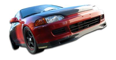 Extreme Dimensions 16 - Honda Civic 2DR & 3DR Carbon Creations Spoon Style Front Lip Under Spoiler Air Dam - 1 Piece - 102728