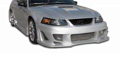 Extreme Dimensions 16 - Ford Mustang Duraflex Bomber Front Bumper Cover - 1 Piece - 103273