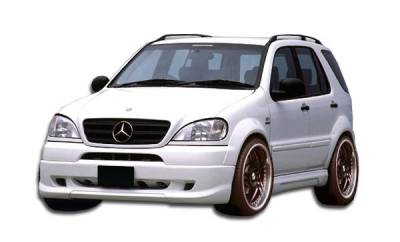 Mercedes-Benz ML Duraflex W-1 Front Lip Under Spoiler Air Dam - 1 Piece - 103433