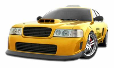 Extreme Dimensions 16 - Ford Crown Victoria Duraflex GT Concept Front Bumper Cover - 1 Piece - 103532