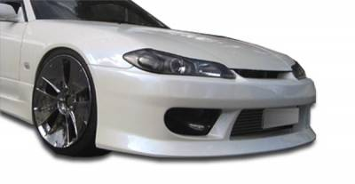 Extreme Dimensions 16 - Nissan S15 Duraflex V-Speed Front Bumper Cover - 1 Piece - 103562