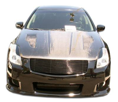 Extreme Dimensions 16 - Nissan Maxima Duraflex GT-R Front Bumper Cover - 1 Piece - 104133