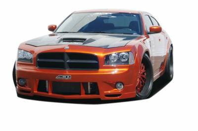 Extreme Dimensions 16 - Dodge Charger Couture Luxe Wide Body Front Bumper Cover - 1 Piece - 104812