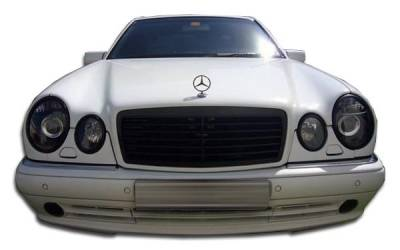 Extreme Dimensions 16 - Mercedes-Benz E Class Duraflex AMG Look Front Bumper Cover - 1 Piece - 105073