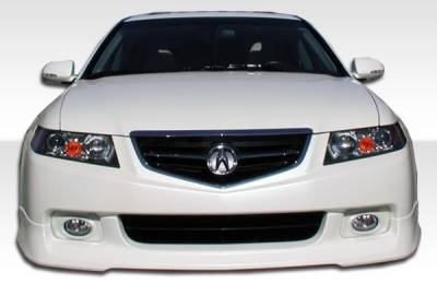 Extreme Dimensions 16 - Acura TSX Duraflex J-Spec Front Lip Under Spoiler Air Dam - 1 Piece - 105223