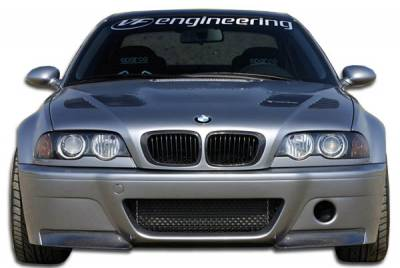 VIS Racing. - BMW 3 Series 2DR Carbon Creations CSL Look Front Bumper Cover - 1 Piece - 105346
