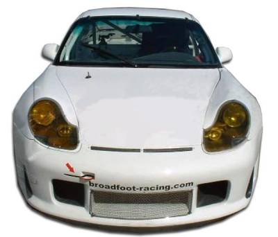 Extreme Dimensions 16 - Porsche 911 Duraflex GT3-R Look Wide Body Front Under Spoiler Air Dam Lip Splitter - 1 Piece - 105401