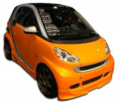 Extreme Dimensions 16 - Smart ForTwo Duraflex FX Front Lip Under Spoiler Air Dam - 1 Piece - 105667