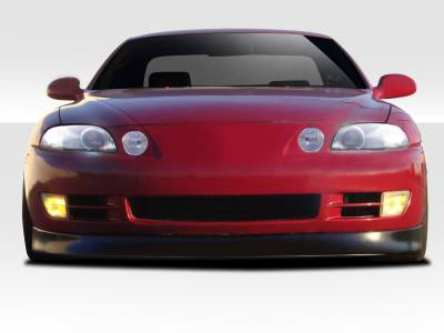 Extreme Dimensions - Lexus SC Duraflex V-Speed Front Lip Under Spoiler Air Dam - 1 Piece - 106789