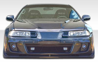 Extreme Dimensions 16 - Honda Prelude Duraflex M-Speed Front Bumper Cover - 1 Piece - 106933