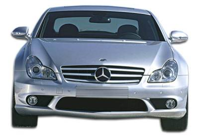 Extreme Dimensions 16 - Mercedes-Benz CLS Duraflex AMG Look Front Bumper Cover - 1 Piece - 106950