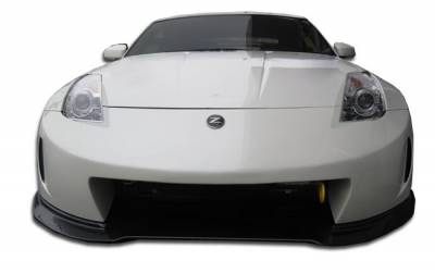 Extreme Dimensions 16 - Nissan 350Z Duraflex AM-S Wide Body Front Bumper Cover - 1 Piece - 107223