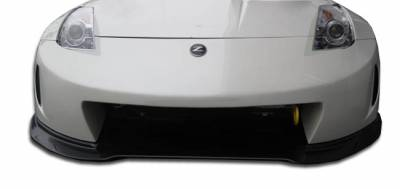 Duraflex - Nissan 350Z Duraflex AM-S Wide Body Front Under Spoiler Air Dam Lip Splitter - 1 Piece - 107224