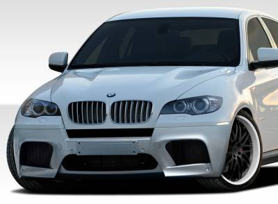 Extreme Dimensions 16 - BMW X6 Duraflex X6M Look Front Bumper Cover - 1 Piece - 107707