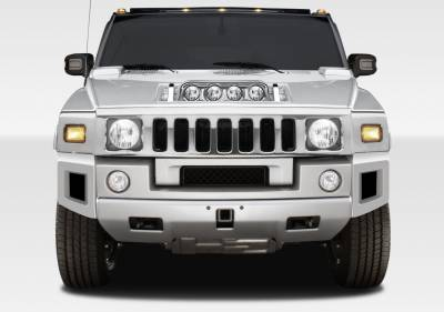 Hummer H2 Duraflex BR-N Front Add On Bumper Extensions - 2 Piece - 107745