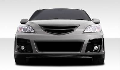 Extreme Dimensions 16 - Mazda 3 4DR HB Duraflex X-Sport Front Bumper Cover - 1 Piece - 107761