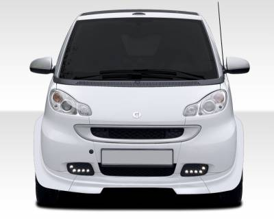 Extreme Dimensions 16 - Smart ForTwo Duraflex GT300 Wide Body Front Lip Under Spoiler Air Dam - 1 Piece - 107839