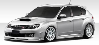 Extreme Dimensions 16 - Subaru WRX Duraflex C-Speed 2 Front Lip Under Spoiler Air Dam - 1 Piece - 107862