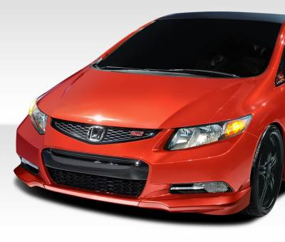 Extreme Dimensions 16 - Honda Civic 2DR Duraflex H-Sport Front Add On Bumper Extensions - 2 Piece - 107951