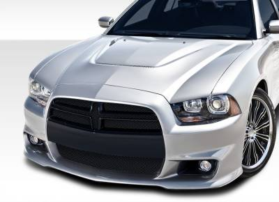 AIT Racing - Dodge Charger Duraflex SRT Look Front Bumper Cover - 1 Piece - 108035