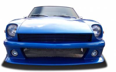 Extreme Dimensions - Nissan 280ZX Duraflex MS-R Front Bumper Cover - 1 Piece - 108118