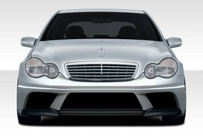 Extreme Dimensions. - Mercedes-Benz C Class Duraflex AMG V2 Look Front Bumper Cover - 1 Piece - 108244