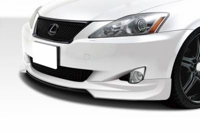 Extreme Dimensions 16 - Lexus IS Duraflex W-1 Front Lip Under Spoiler Air Dam - 1 Piece - 108676