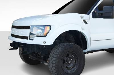 Extreme Dimensions 16 - Ford F150 Duraflex Off Road Raptor Trophy Truck Front End Conversion - 3 Piece - 108892