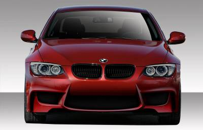Extreme Dimensions 16 - BMW 3 Series 2DR Duraflex 1M Look Front Bumper Cover - 1 Piece - 109017