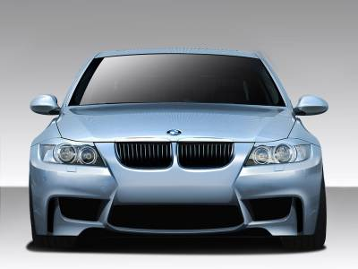 Extreme Dimensions 16 - BMW 3 Series 4DR Duraflex 1M Look Front Bumper Cover - 1 Piece - 109018