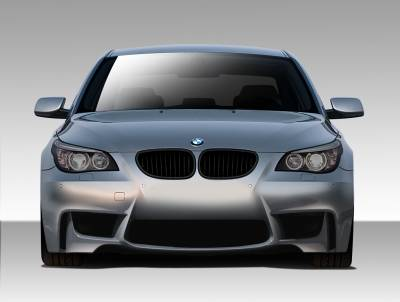 Extreme Dimensions 16 - BMW 5 Series Duraflex 1M Look Front Bumper Cover - 1 Piece - 109300